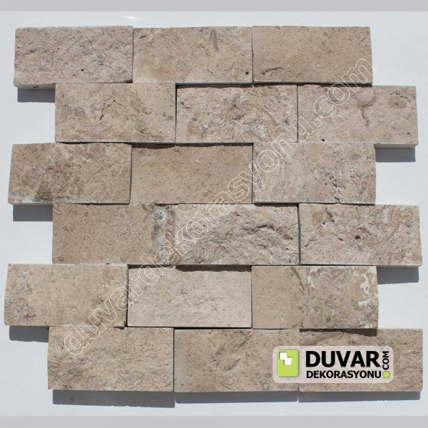 Noche Travertine Split Face